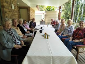 Pam Russell, Pat Nayler,  Carmel Darcey, Jenny Killalea, Don Pascoe .right side front. Lil Kahl, Del Nayler, Annette Collins, Margaret Cudahy, Ray Kahl