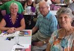 Jo, Arthur, Katrina at the My Aged Care talk with Probus.