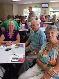 Jo, Arthur, Katrina at the My Aged Care talk with Probus.