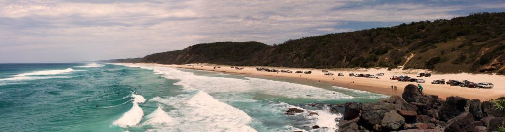 Restricting numbers of visitors and campers to Teewah by 50 percent has been  proposed by the Teewah and Cooloola Working Group. Photo courtesy Luke Booth.