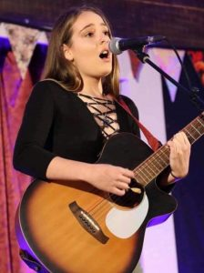 Winner of the 2018 Woodford Folk Festival Talent Quest, Ash Pel, will be performing at the Sound of Teen Spirit Concert on September 28