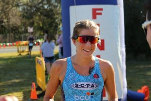 Lucy Bowden was the first female past the post and in September last year Lucy competed in the ITU Age Group World Championships