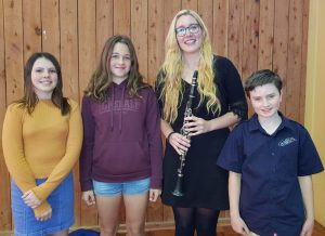 YAP sponsored three aspiring musicians, Lily Rose, Anjelica and Max to attend the Cooloola Community Orchestra