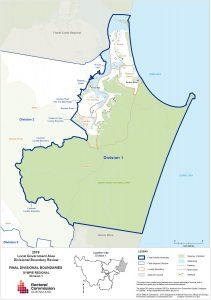 Election Boundaries Gympie Division 1