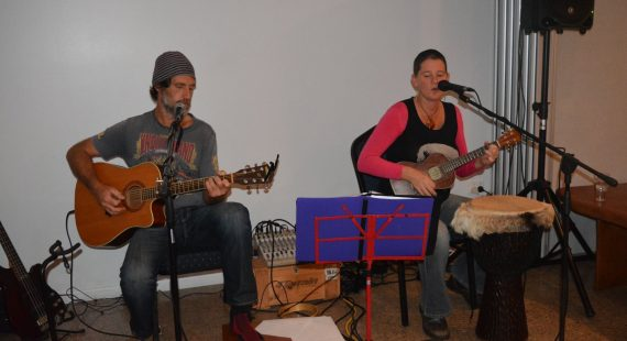 Don't miss husband and wife duo, Hat Fitz and Cara, at the Festival of Small Halls in November
