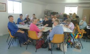 QCWA - Our craft day where everybody is welcome - diamond art, knitting, crocheting or just a cuppa and a chat