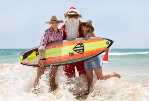 Santa is coming early to Rainbow Beach to party with the community on December 15!