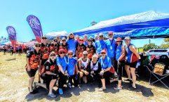 The combination team called Wide Bay Warriors competing at Lake Kawana