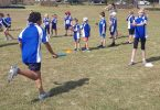 Little Athletics training is starting to get serious with competitions just around the corner