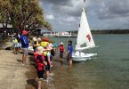 The three day Learn to Sail Program was a big hit for the beginners.