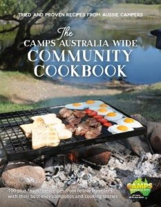 Grab a cookbook for Christmas for someone who loves camping!