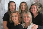 The team from Rainbow Beach Hair and Beauty will help you destress.