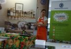 Coordinator from the Country Kitchen, Alex, held a healthy eating demonstration at the QCWA Tin Can Bay Branch