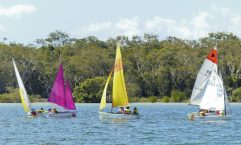 The last sailing course was a huge success with parents and students loving their time on the water