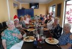 QCWA members celebrated Christmas with a sumptuous luncheon held at the Marina, TCB