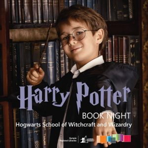 Come dressed as your favourite Harry Potter character at the Tin Can Bay Library