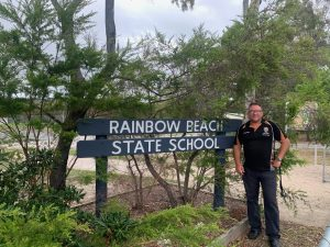We welcome new Principal Steve Bennett back to Rainbow Beach