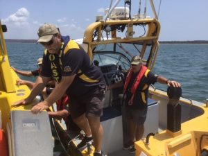 The Coast Guard is a RTO and train volunteers in radio, critical missions in search and rescue from the age of 18