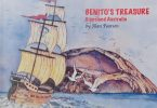 Benito's Treasure, written and illustrated by Tin Can Bay local, Alan Pearson, will be at Gatakers Artspace from March 4 - 29