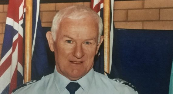 Sergeant Darren Grieve present day