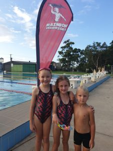 Amanda Guerts, Audrey Permezel, Kasey-cruise Findlater after a fun evening in the Swim Club.