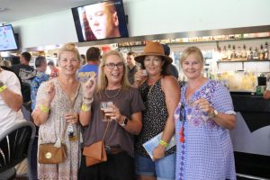 Sylvia White, Tracey White, Neridah Hillcoat and Vicki Schluter came back to town