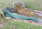 Paul Bentley has invented Eco Net litter prevention traps to catch the rubbish before it reaches water