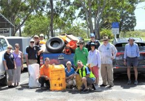Clean Up Australia Day was a big success thanks to the TCB Fishing Club and the community who volunteered to help out