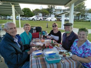 John Missed, Annette Collins, Sabine Deimel, Don Pascoe and Dorothy Pascoe