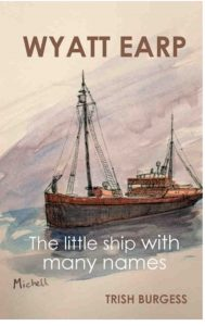 The book, Wyatt Earp: The little ship with many names, will be released by publisher Connor Court in mid May