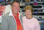 Business during Covid - Sam and Maureen from the Rainbow Beach Tourist Info Centre