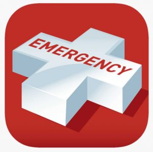 CCLAC - Ambulance- The smart phone APP Emergency +, to show your location in an emergency