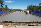 Recent photo of the Deck Span on the Coondoo Bridge due to be completed by the end of the year. Photo:Department of Transport and Main Roads