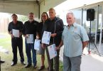 Surf Club - Awards for years of service Kim McCarthy (45), Mark Langton (35), Ray Wewer (35), Ross Kidd (35), Ron Organ (30)