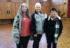 Welcome to the new Tin Can Bay Quilters committee: Secretary Anne; President Annabell and Treasurer Leonie