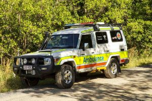 Ambulance Training - Toyota Landcruiser Troopy