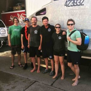 Wolf Rock Dive - The latest PADI Open Water Certified scuba divers - Bailey Symons, Charlie Kingsley, Alex Heathcote, James Nelson, Emily Simpson, Colin Thrupp