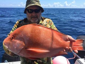 Nice red here snagged last month by one of our happy customers