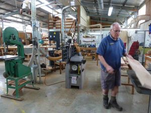 The Tin Can Bay Community and Mens Shed visited the Blackall Range Woodworkers Guild premises in Montville recently