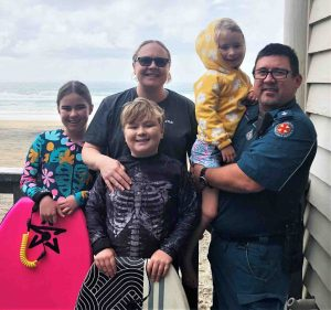 Meet the new Officer in Charge of the Rainbow Beach Ambulance Station and the new Police Officer for Tin Can Bay and their family