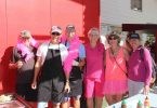 Some of the fabulous walkers and volunteers during last month's Walk for Women's Cancer were Murray, Chris Keen, Bob Gudge, Glenys Kidd, Ria Boustead and Chris Gudge