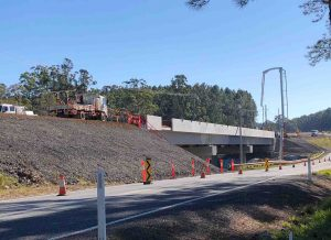 The Coondoo Bridge will be taking traffic by December 2020!