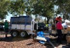 Rainbow Beach Drought Runners heading out for another essentials drop to the farms of South West Queensland
