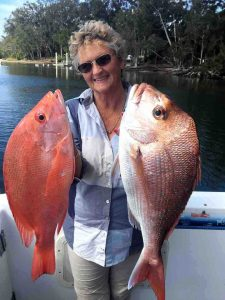 Annette had a great birthday with this Scarlet and Snapper being two of many for her.