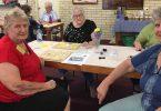 Cherryl, Barbara and Katrina from the Cooloola Coast Probus club at the QCWA Hoy morning in Tin Can Bay
