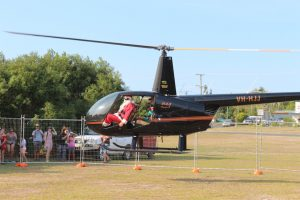 Everyone is looking forward to seeing Santa arrive in style again this year for the Community Christmas Party