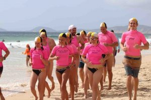 You'll have fun training to be a lifesaver with your peers - and join a great bunch of people, from all walks of life and all ages who volunteer to keep us all safe on our beach