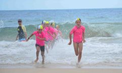 Nippers during the fist of their three age championships for the season. Photo: Julie Pratt
