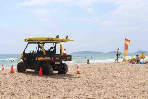Rainbow Beach Surf Life Saving Flags