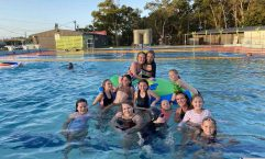 The free pool party before Christmas was a hit - come and support your local pool